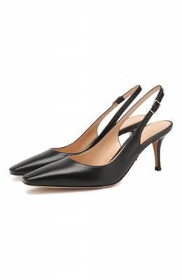 Кожаные туфли Gianvito Rossi G95119.70RIC.NAPNER0