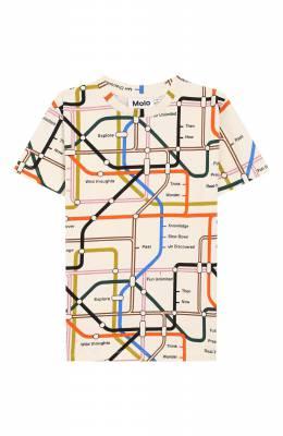 Хлопковая футболка Roxo Molo 1S19A216