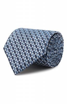 Шелковый галстук Brioni 061D00/P9484