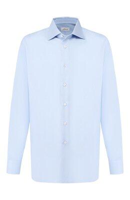 Хлопковая сорочка Brioni RCL42Q/PZ023