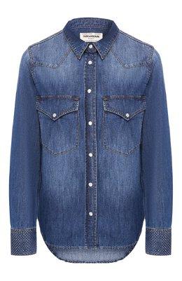 Хлопковая рубашка Zadig & Voltaire WHCA0505F