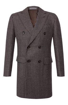 Шерстяное пальто Corneliani 841419-9812118/00