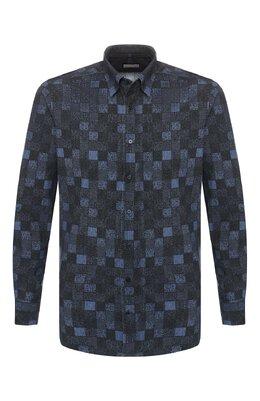 Хлопковая рубашка Zilli MFS-MERCU-39002/RZ01