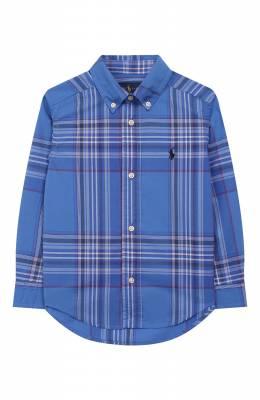 Хлопковая рубашка Ralph Lauren 323737261