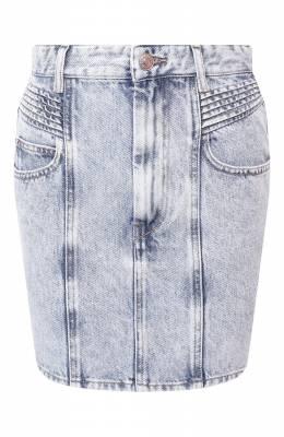 Джинсовая юбка Isabel Marant Etoile JU1087-20P017E/H0ND0