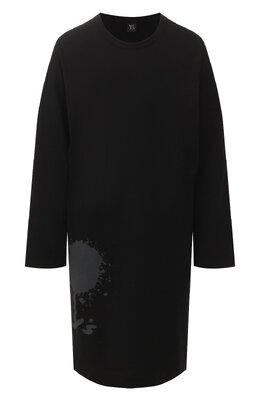 Хлопковая футболка Yohji Yamamoto YS-T03-670
