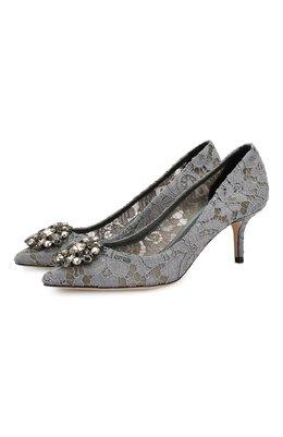 Текстильные туфли Rainbow Lace Dolce&Gabbana 0112/CD0066/AL198