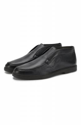 Кожаные ботинки Santoni MGYA16715SM0ADI0U49