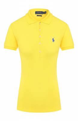 Хлопковое поло Polo Ralph Lauren 211505654