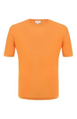 Шелковая футболка Brioni UMR00L/P8K08