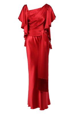 Шелковое платье Dolce&Gabbana F6C8LT/FU1NU