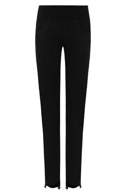 Укороченные джинсы с бахромой Pietro Brunelli JP0043/FF/DE0078