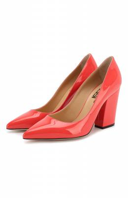 Кожаные туфли Sergio Rossi A85322-MVIV01