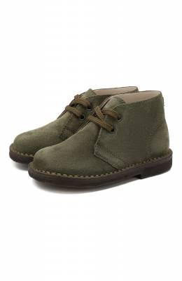 Кожаные ботинки Il Gufo G121/VEL0UR PESANTE/27-30