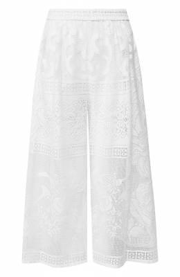 Хлопковые брюки Dolce&Gabbana FTBDRZ/HHMBC