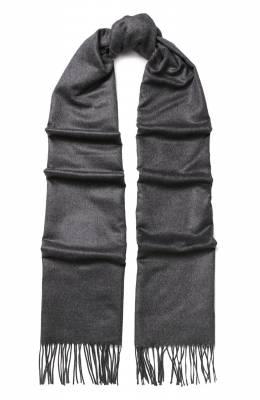 Шелковый шарф с бахромой Corneliani 82B242-8829037/00