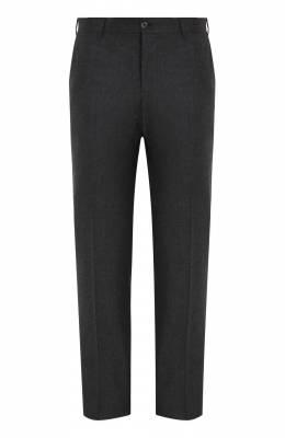 Шерстяные брюки прямого кроя Zilli M0Q-40-38N--46438/0001