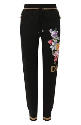 Хлопковые джоггеры Dolce&Gabbana FTBF1Z/G7TBH