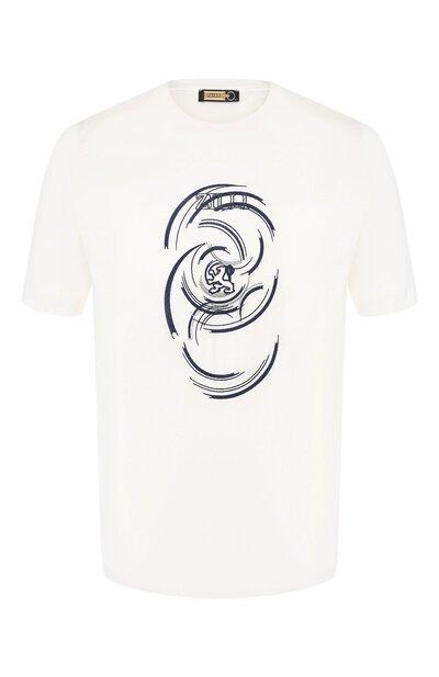 Хлопковая футболка Zilli MER-NT530-JEWI1/MC01 - 1