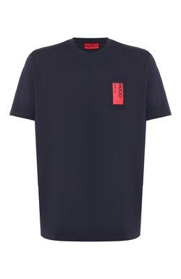 Хлопковая футболка Hugo 50414684