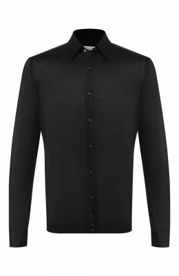 Хлопковая рубашка Zilli MFS-MERCU-56053/RJ01