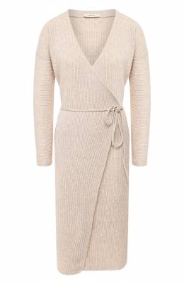 Платье из смеси шерсти и кашемира Vince V636378367