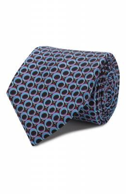 Шелковый галстук Zilli 50233/TIES