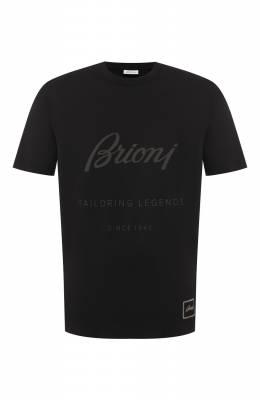 Хлопковая футболка Brioni UJCH0L/08628