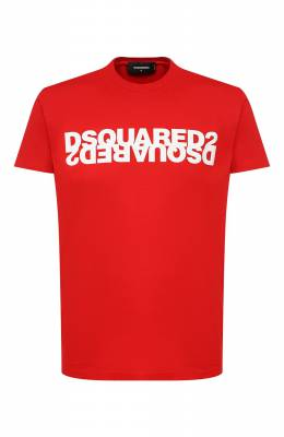 Хлопковая футболка Dsquared2 S74GD0635/S22427