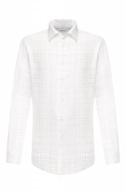 Льняная рубашка Brioni SCCD0L/P9110
