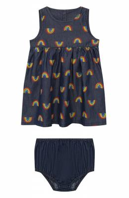 Комплект из платья и шорт Stella McCartney 589583/S0K82