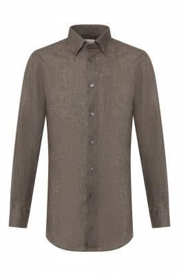 Льняная рубашка Brioni SCCA0L/P9111