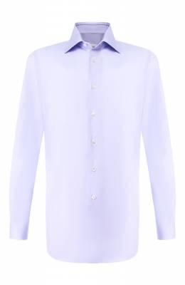 Хлопковая сорочка Brioni RCLU1R/P90B4