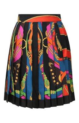 Шелковая юбка Versace A79448/A233263