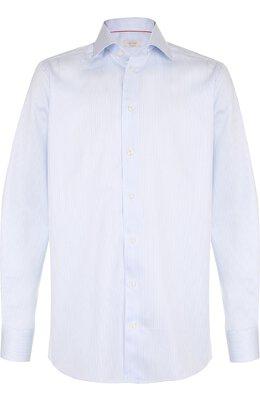 Хлопковая сорочка с воротником кент Eton 7640 79311