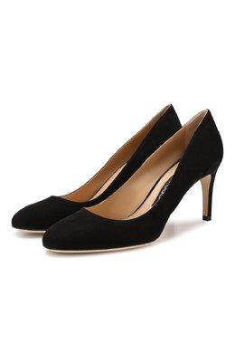 Замшевые туфли Sergio Rossi A70220-MCAZ01