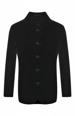 Однобортный пиджак из вискозы Giorgio Armani 8WGGG01B/T0025