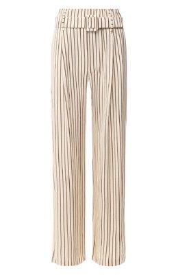 Хлопковые брюки Erika Cavallini PE/P/P0SF07