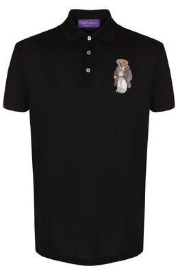 Хлопковое поло с короткими рукавами Ralph Lauren 790725529