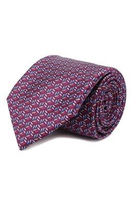 Шелковый галстук Zilli 50280/TIES