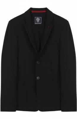 Однобортный пиджак джерси Dal Lago N068S/8111/XS-L