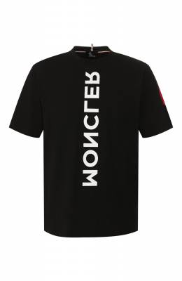 Хлопковая футболка Moncler Grenoble E2-097-80019-50-83927