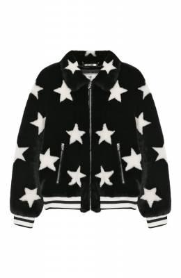 Куртка из экомеха Philipp Plein GLB0127