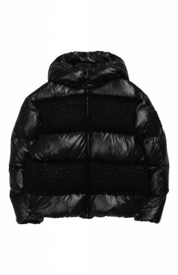 Пуховая куртка с капюшоном Elbe Moncler Enfant E2-954-46341-85-C0243/12-14A