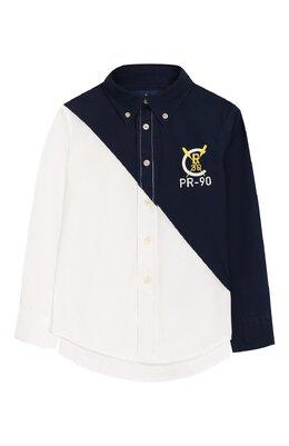 Хлопковая рубашка Ralph Lauren 321737266