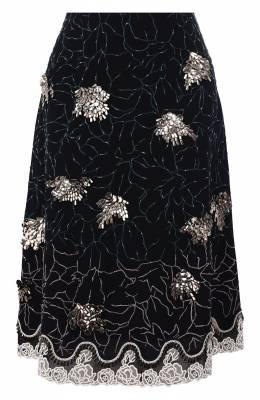 Шелковая юбка Chloe CHC19WJU32002