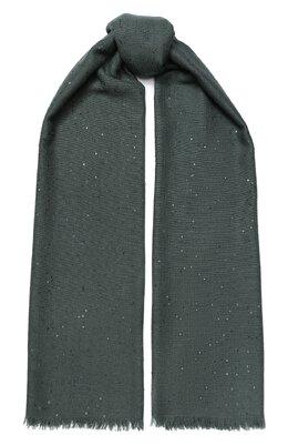Шарф из смеси кашемира и шелка Brunello Cucinelli MSC915029P
