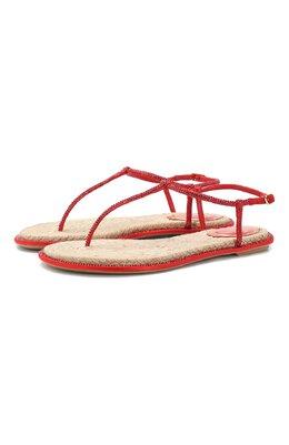 Кожаные сандалии Diana Rene Caovilla C08932-010-R001V126