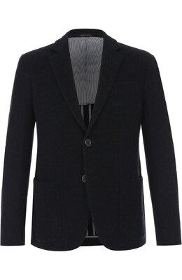 Кашемировый однобортный пиджак Giorgio Armani ZSGU21/ZS309