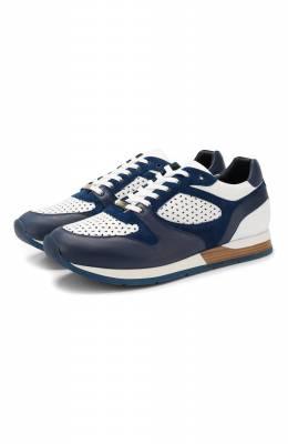 Кожаные кроссовки Zilli MDR-T050/002